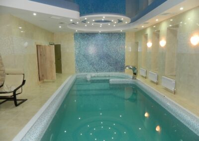 Скиммерный бассейн частного клиента г. Барнаул