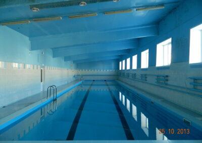 Скиммерный бассейн в спорткомплексе г. Ачинск