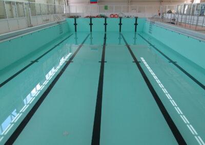 Бассейн в спорткомплексе г. Ефремов