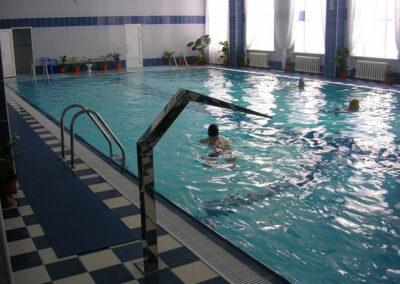 переливной бассейн санатория Центросоюз г. Белокуриха