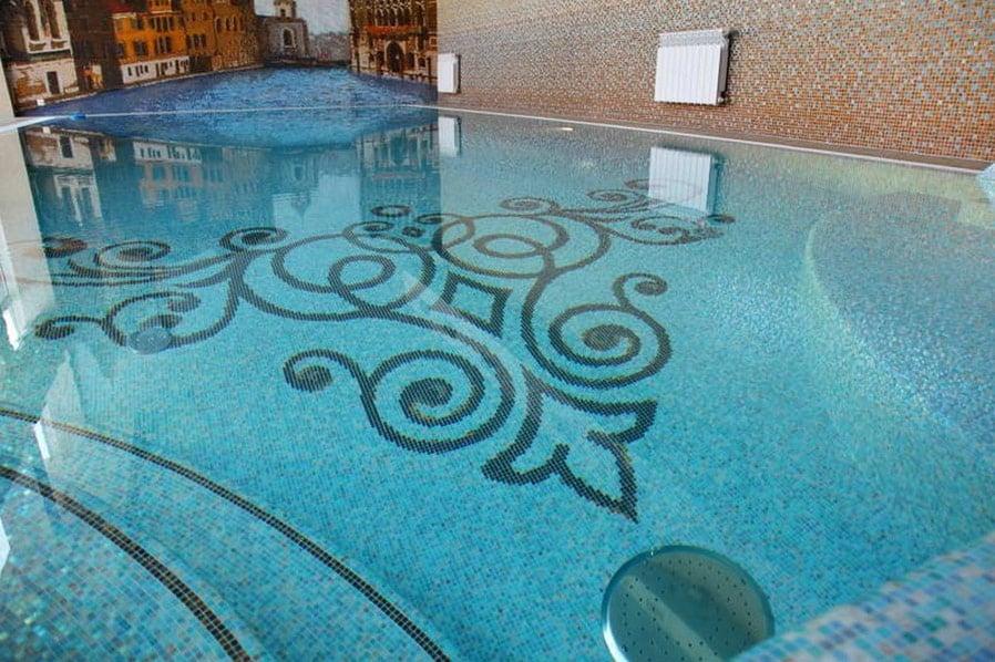 мозаика для бассейна в Новосибирске