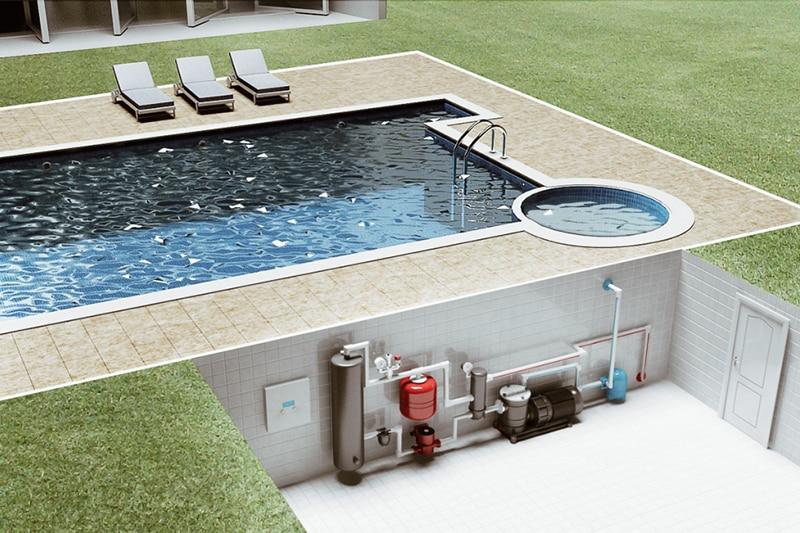 строительство бассейна в Новосибирске