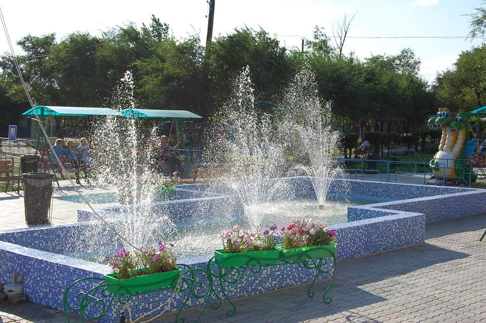 стоительство фонтанов в Омске